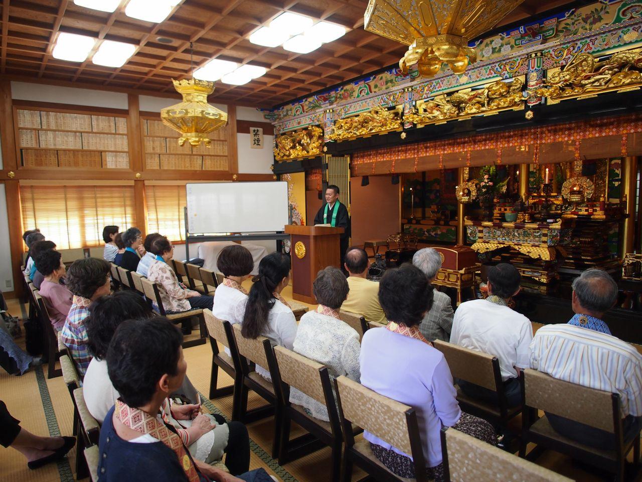 仏教講演会